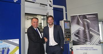 New Feintool Press for University in Aachen