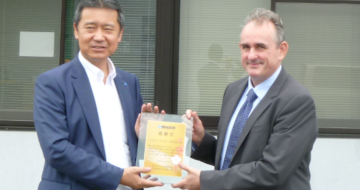 """Best Quality Award"" - Renowned Japanese customer honours Feintool"