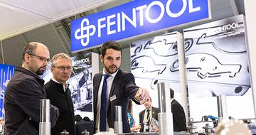 Feintool looks back on a successful Blechexpo 2017