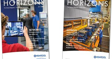 Discover new horizons in the latest edition of Feintool's customer magazine